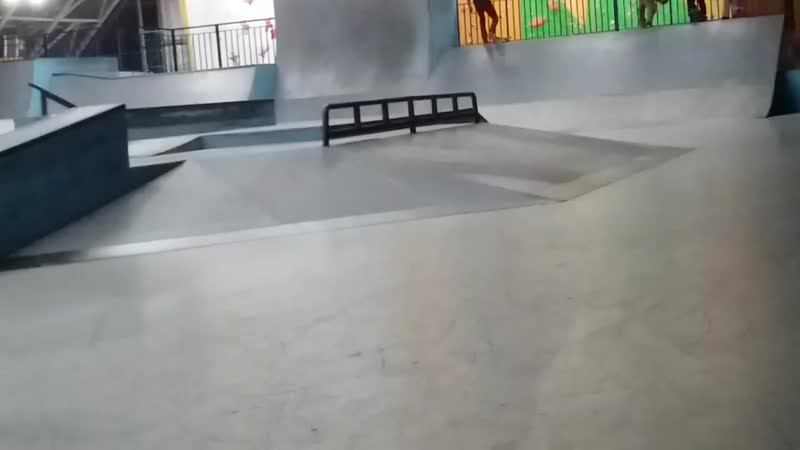 Ramses on skate - bs double flip over the hip 18.02.2019
