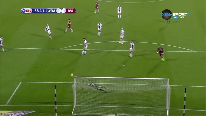 Вест Бромвич - Астон Вилла 2-2 Обзор матча 07 12 18