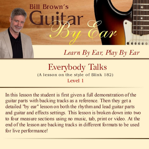 Bill Brown альбом Guitar By Ear: Everybody Talks