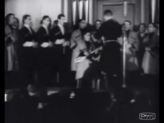Georgian Ensemble in the Third Reich - 1944 year.