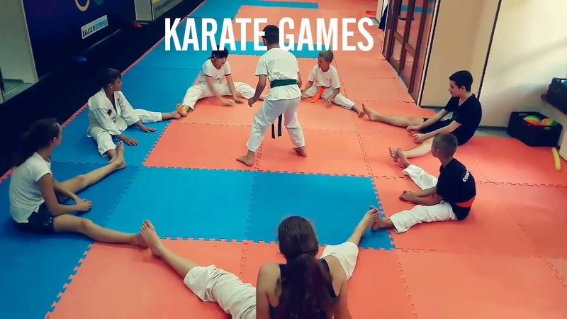 Игры в каратэ/karate games. KARATE CLUB SKIF