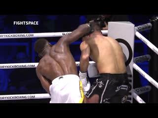 Highlights: GLORY 64: Седрик ДУМБЕ нокаутировал Арута ГРИГОРЯНА | Чемпионский бой | FightSpace