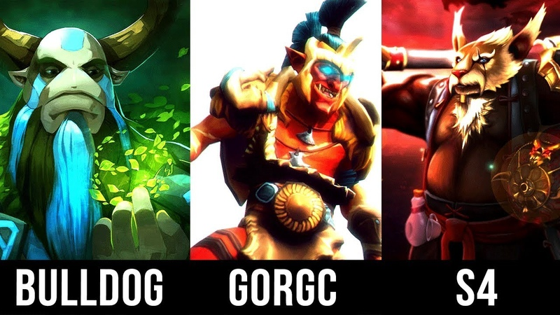 S4 Brewmaster, Gorgc Troll Warlord vs Bulldog Nature's Prophet Battle A One of A Kind Beast Dota 2