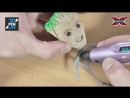 Видео из интернета ШЕДЕВРЫ 3D РУЧКОЙ