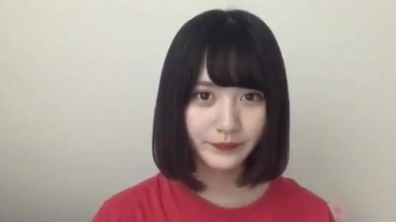 180604 NMB48 Team BII Draft KKS Yamamoto Mikana SHOWROOM cut 3