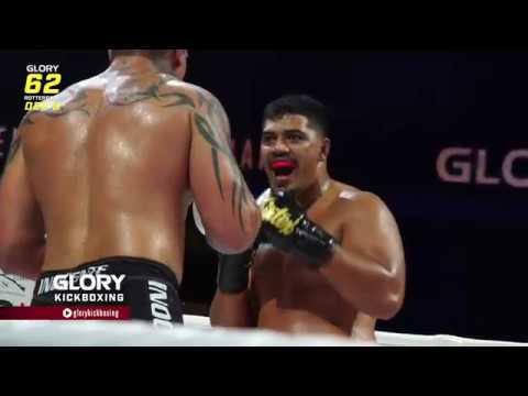 GLORY 62: Junior Tafa - You've Got to Respect Me… You're Not Fighting an Average Human Being