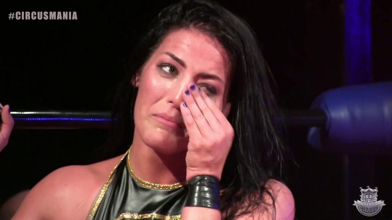 Tessa Blanchard (c) vs. Dave Crist [Full Title Match - WrestleCircus CircusMania 10212017]