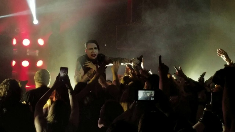 Marilyn Manson - The Beautiful People [live at Knoxville, 23.10.2018]