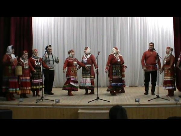 Народный чувашский фольклорный ансамбль Шевле. Руководитель Светлана Матвеева.
