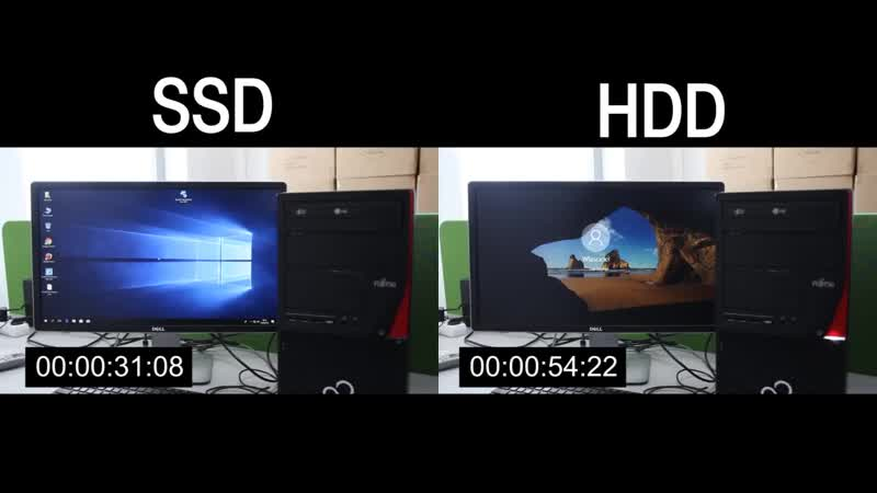 [KrzychEMC] SSD vs. HDD, Windows 10