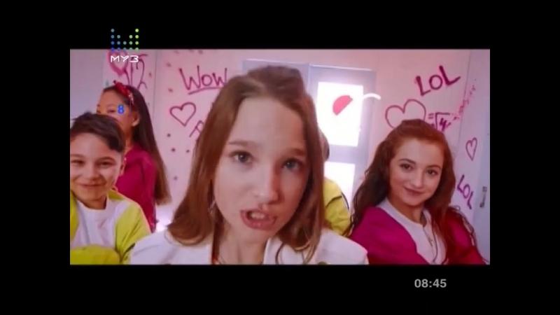 Лиза Анохина Boom Муз ТВ Детская десятка с Яной Рудковской