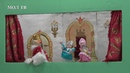 Зимняя сказка в Карпогорской библиотеке. Кукольный спектакль