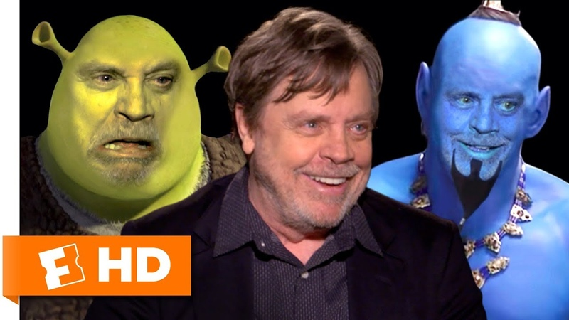 Mark Hamill Voice Acting Characters Impressions Fandango All Access