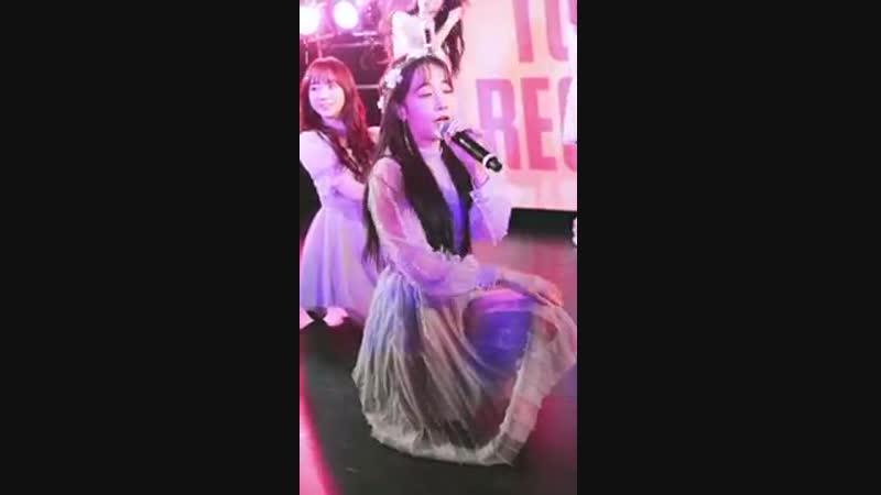 190203 러블리즈 일본프로모션 타워레코드2부 LIKE U 유지애 직캠 Lovelyz Yoojiae LIKE U Fancam