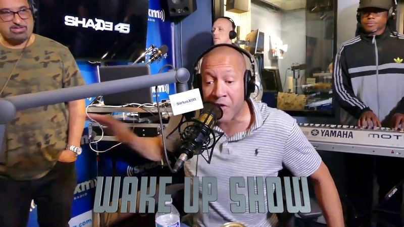 JUICE 15 MINUTE FREESTYLE ON THE WAKE UP SHOW w/HOUSE OF VIBE