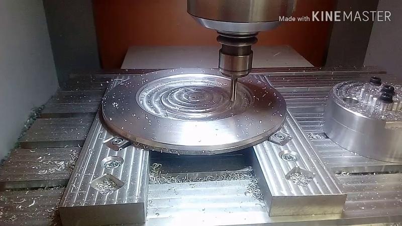 MD-15. ATC Hobby CNC. O.Z. Futura cap milling.