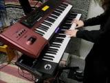 Samael - Born Under Saturn (keyboard cover)