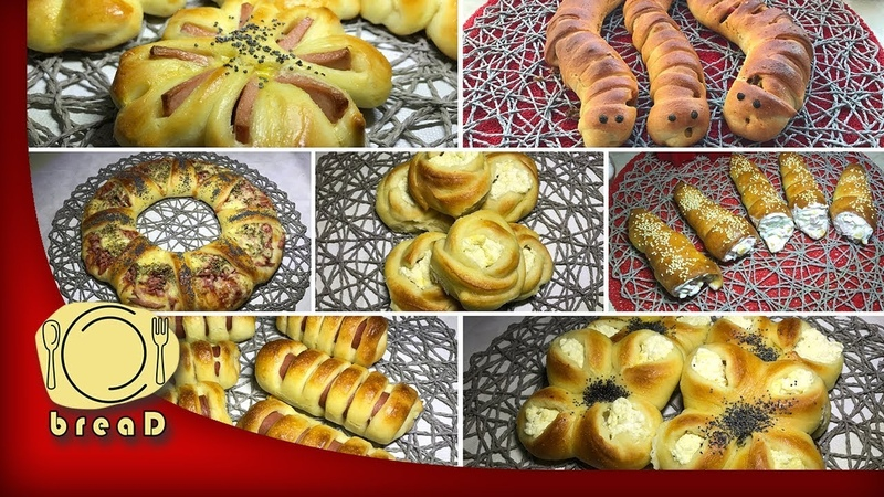 15 ideja od ludog tijesta | BreaD | Crazy Dough