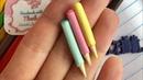 Aplique lápis de cor para laço escolar