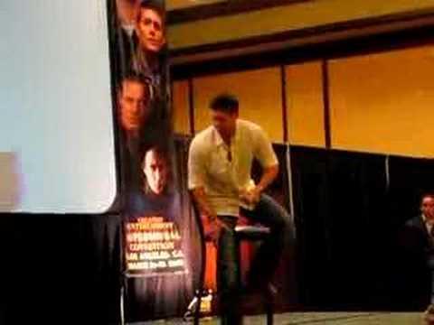 Jensens entrance in LA Supernatural Con QA