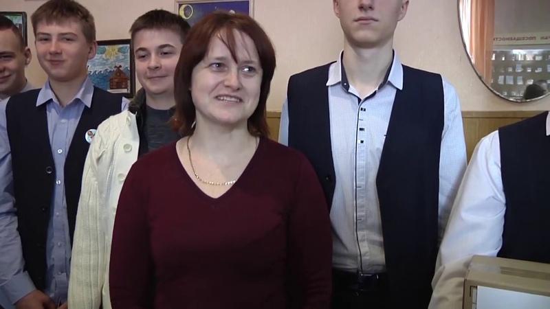 Представители всероссийской организации РВС привезли гуманитарную помощь в школы Красного Луча