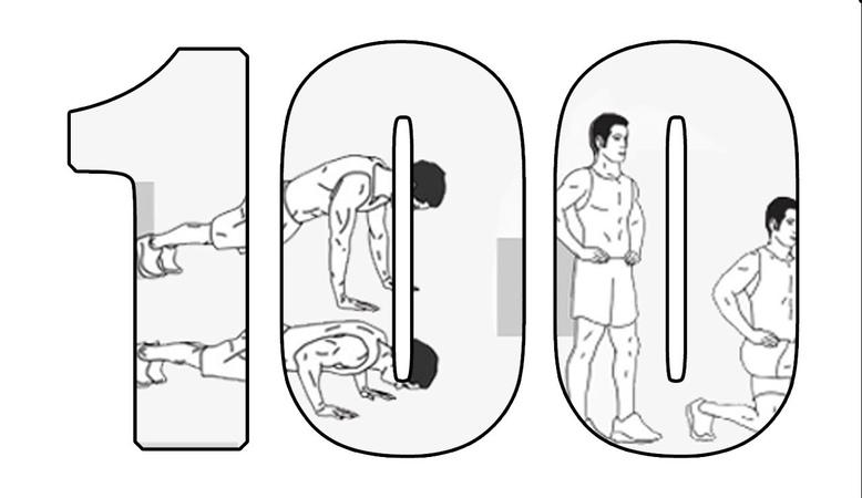 100 дневный воркаут - День 29. Новое упражнение