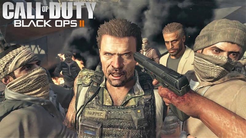 Call of Duty: Black Ops 2 - Фарид убивает Харпера / Фарид пытается убить Менендеса