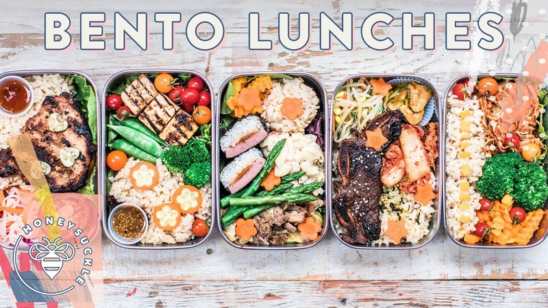 BENTO BOX Lunches for back 2 school 🍱 BuzyBeez