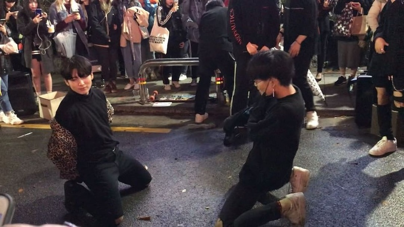 🐣 Fan account on Instagram JUST performance!~ kingdoms 킹덤즈 @09 seunghee @dnfka37079 공연 홍대 홍대버스킹 길거리공연 좋아요 팔로우 busking artist ins