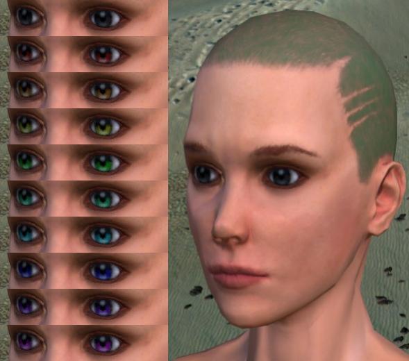 Улучшенные глаза для Kenshi