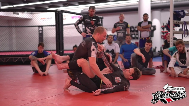 Iceland Camp 2018 Closed guard bottom with Priit Mihkelson