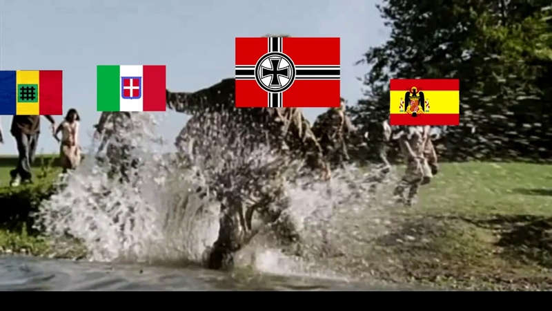 [HOI4] When the Axis Becomes too Powerful