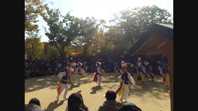 Корейские танцоры трад жанра