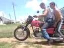 В Дыбы На Мотоцикле Иж Юпитер 5