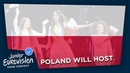 Poland will host Junior Eurovision 2019! 🇵🇱