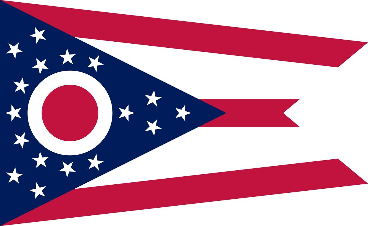 Флаг Огайо