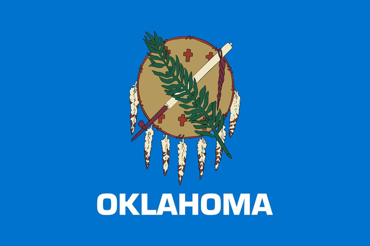 Флаг Оклахома