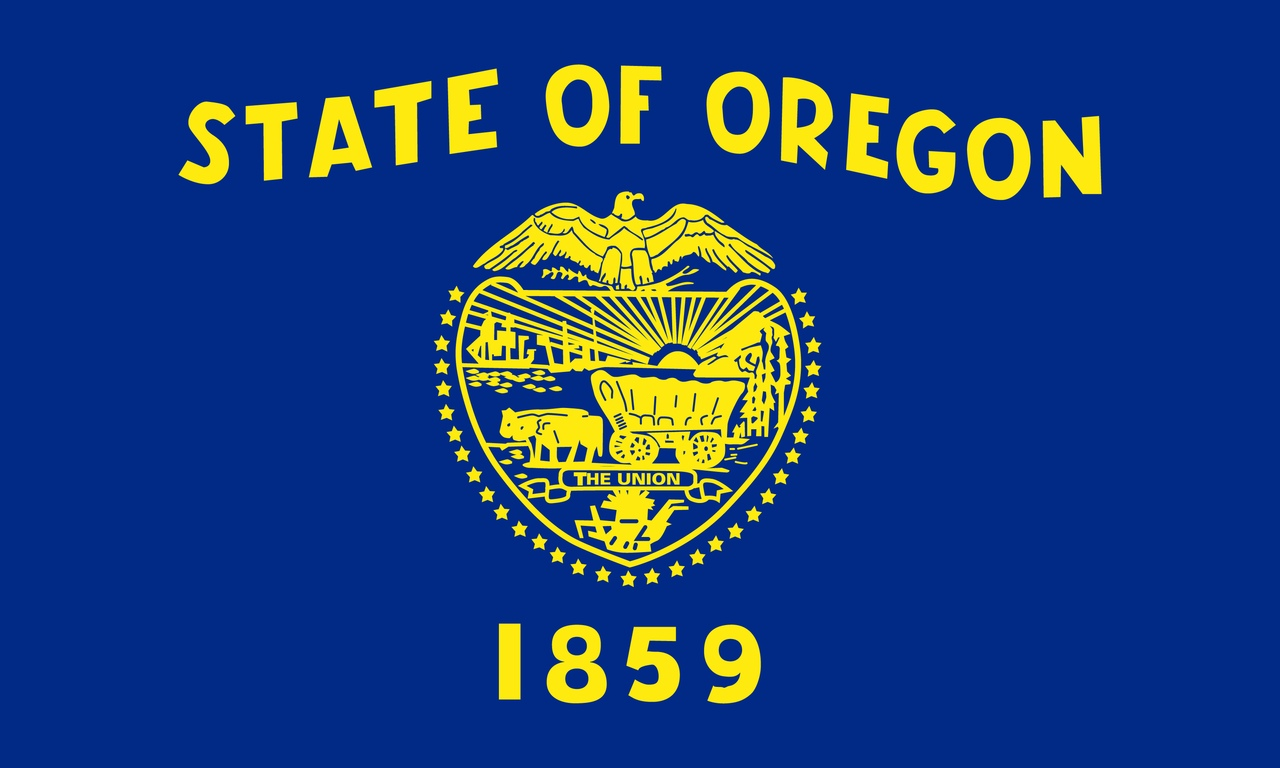 Флаг Орегон