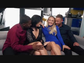 Aj applegate and whitney wright - private sex society [all sex, hardcore, blowjob, foursome, black]