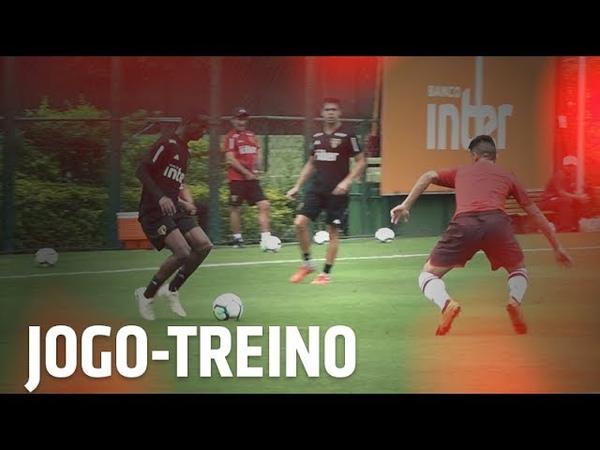 JOGO-TREINO CONTRA OS ASPIRANTES | SPFCTV