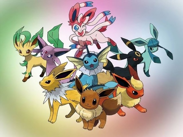 Секреты Pokemon GO - Evee | Эволюции | Cheat names