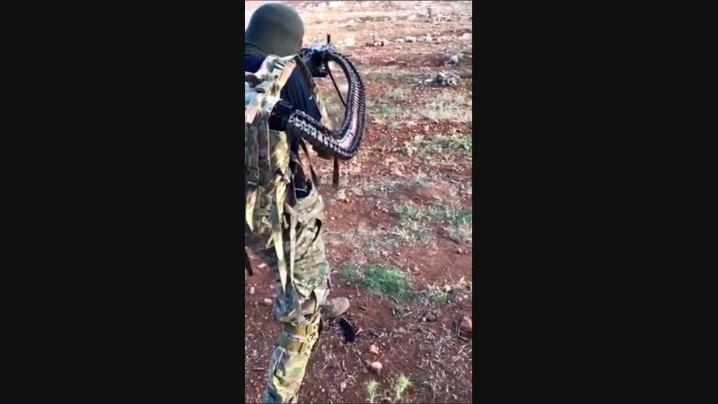 «Скорпион» на вооружении боевиков в провинции Идлиб
