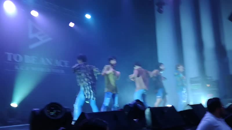 FANCAM 18 11 18 A C E Take Me Higher @ Fan con 'To Be An ACE' in Chile
