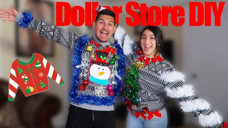 DIY Ugly Christmas Sweaters! (Affordable)
