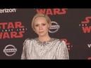 Gwendoline Christie at  Star Wars The Last Jedi Premiere