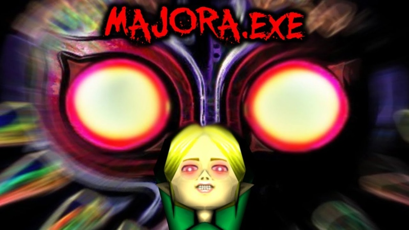 MAJORA.EXE - THE ULTIMATE TEST OF A TERRIBLE FATE [Ben Drowned Zelda Horror Game]