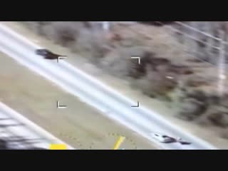 Police helicopter vs GSXR1000