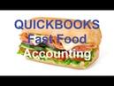 Quickbooks - Item list - Invoice , Sales Tax, Accounts Subway Fast Food Accounts Tutorial video 5