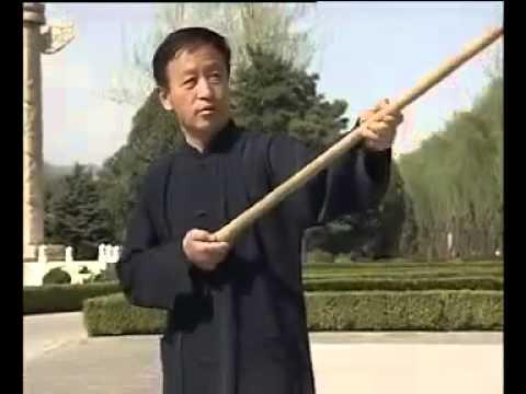 Yi Quan wooden staff practice