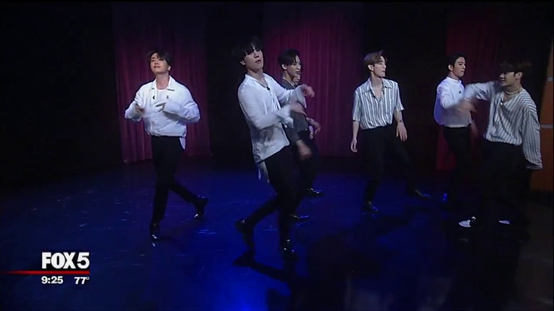 EXCLUSIVE (Performance): GOT7 Perform on Good Day New York